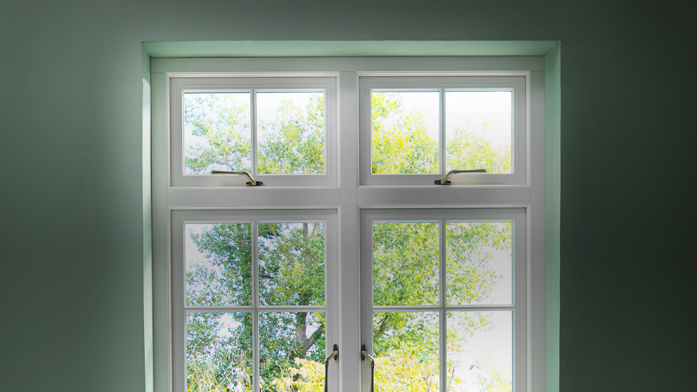 Flush Window Features