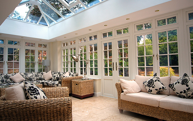 Garden Room with Georgian Bar Windows