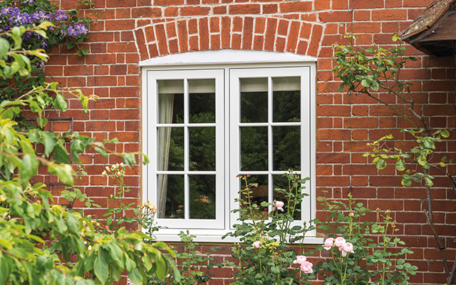 Cottage Flush Window