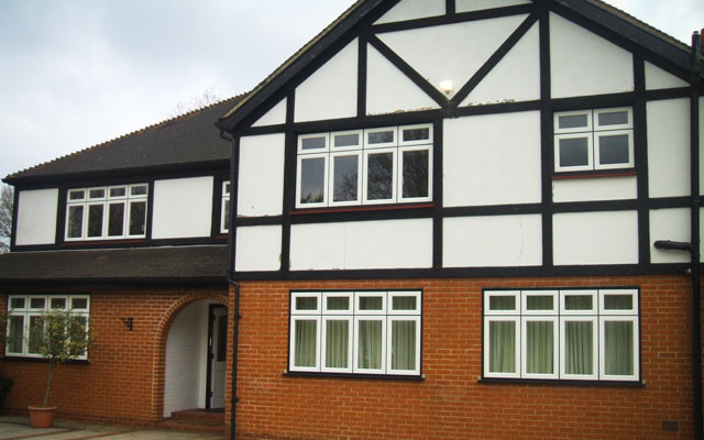 tudor style replacement windows