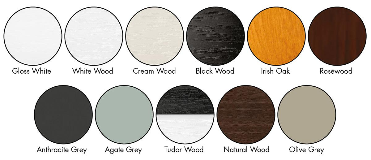 New Colour Options for 2015