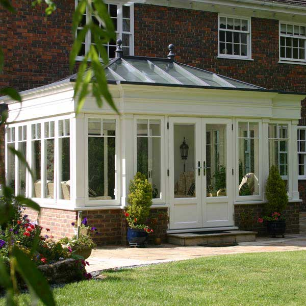 Traditional Painted Orangery