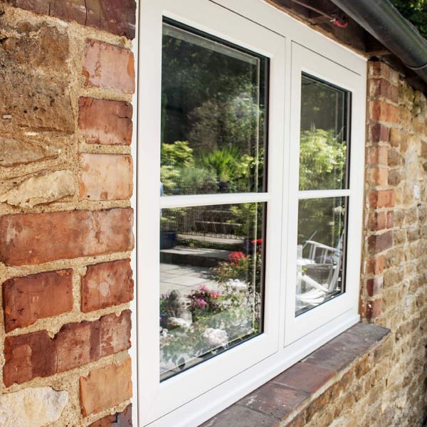 Flush Timber Replica Window
