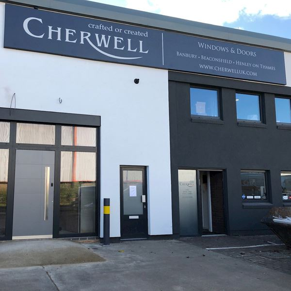 New Destination Showroom for Cherwell Windows Image