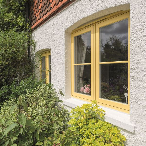 Give your home a new lease of life with coloured window frames Image