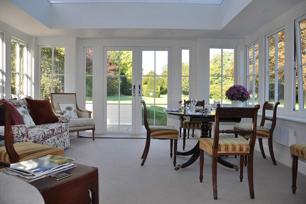 Project Image for Wood-Effect Orangery, Hampshire