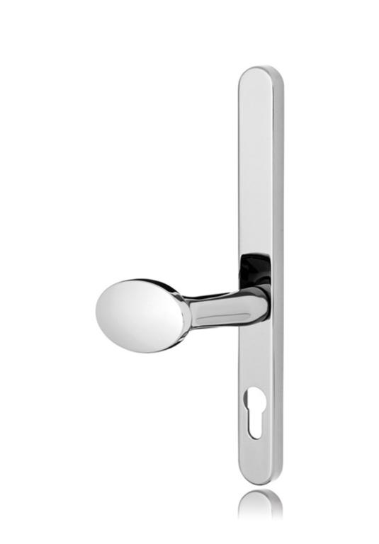 Standard Chrome Lever Pad Door Handle