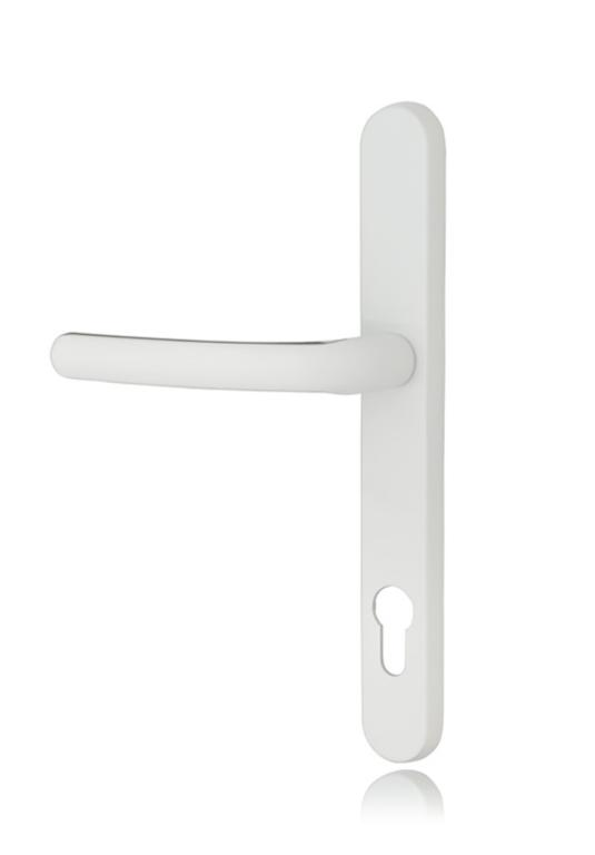 Standard White Lever Door Handle