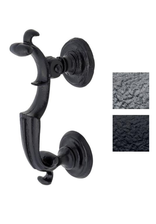 Cast Wrought Iron Scupltured Door Knocker