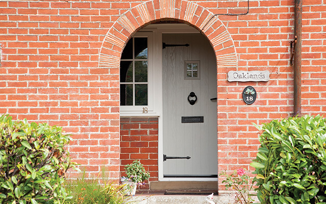 front door design features