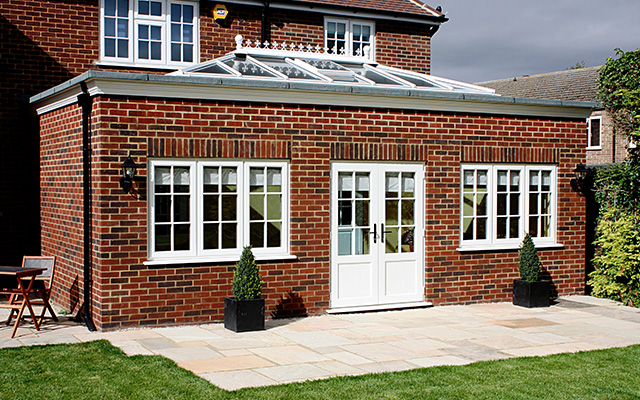 garden room georgian bars and french windows