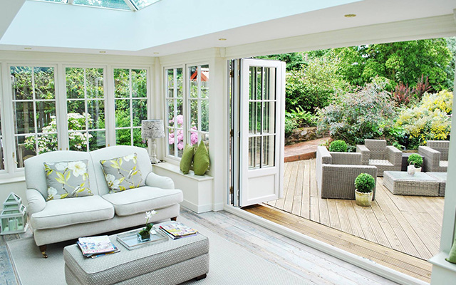 Orangeries timber effect