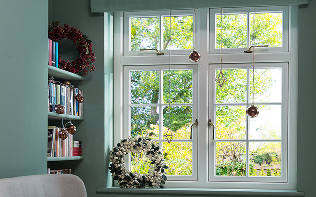 Window design features