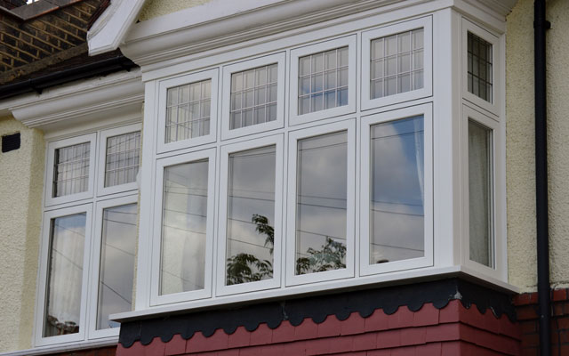 bay windows look of house